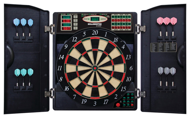 Cool featured electronic soft tip dart boards