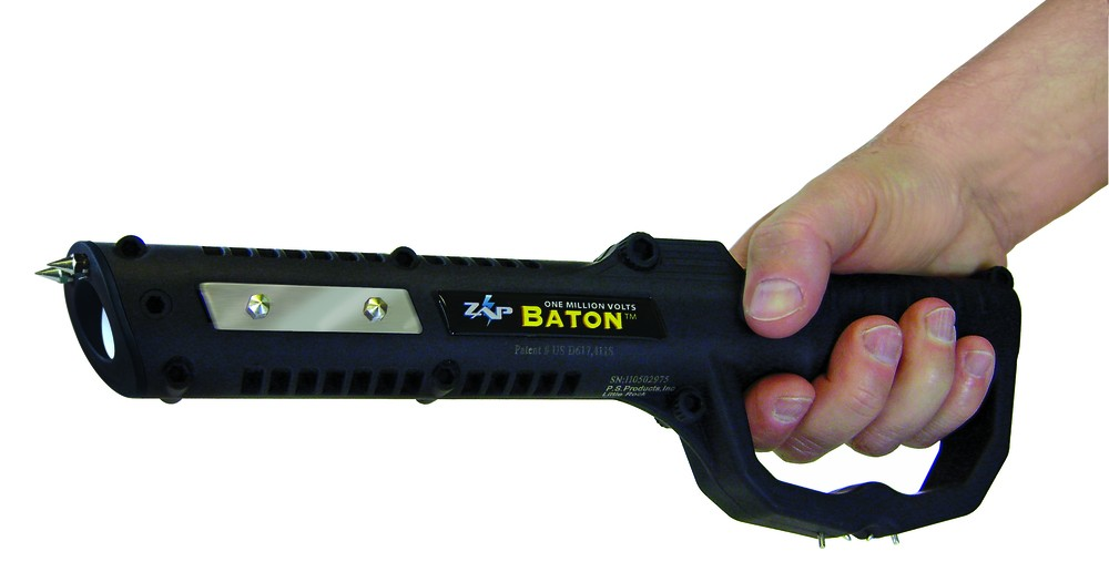 Kick out the fear with this stun gun
