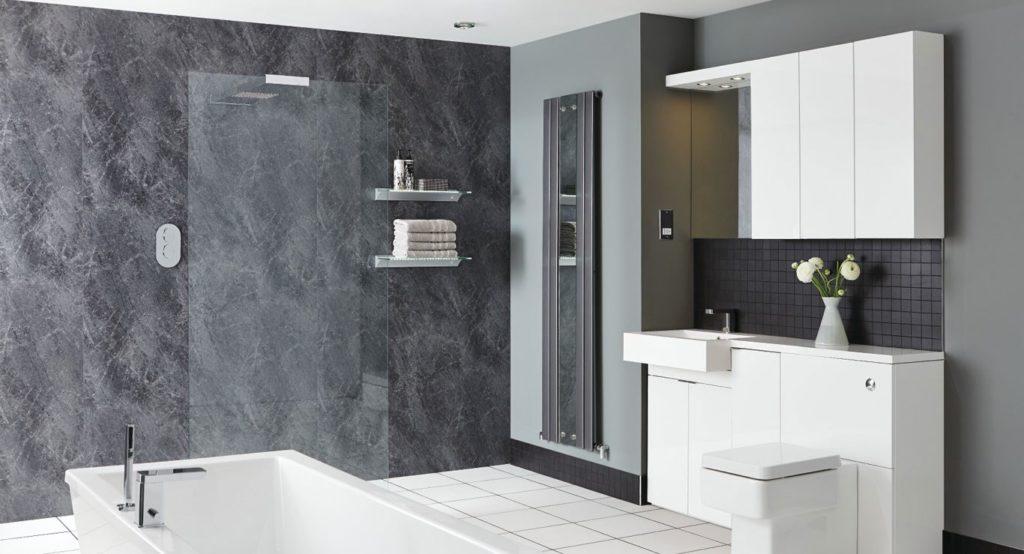 Putting together few advantages of bathroom cladding