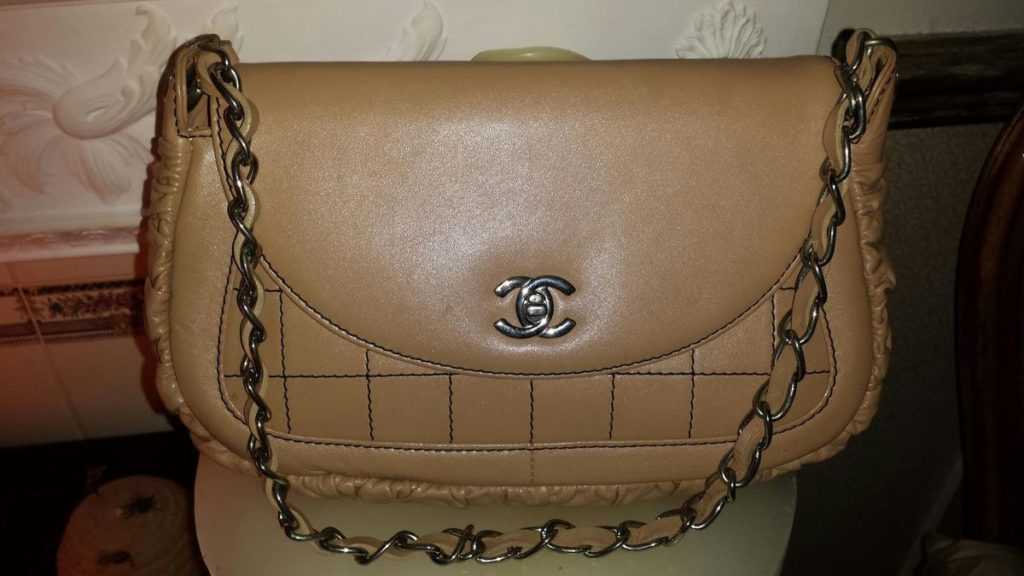 pre-owned Chanel bag