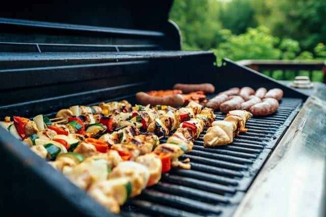 Different types of outdoor grills to choose from